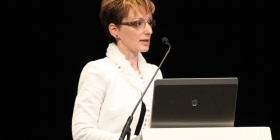 Czunyiné dr. Bertalan Judit a budapesti Szakmai Tanévnyitó Konferencián