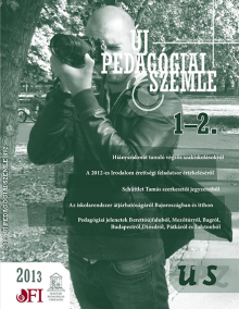 Új pedagógiai szemle 2013. 1-2.