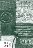 Új pedagógiai szemle 2013. 7-8.